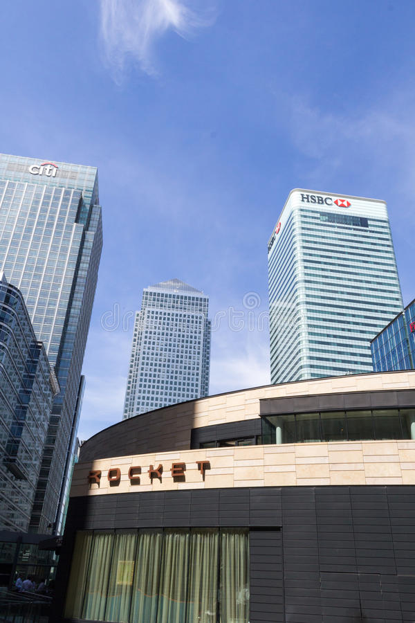 Financial District, London royalty free stock images