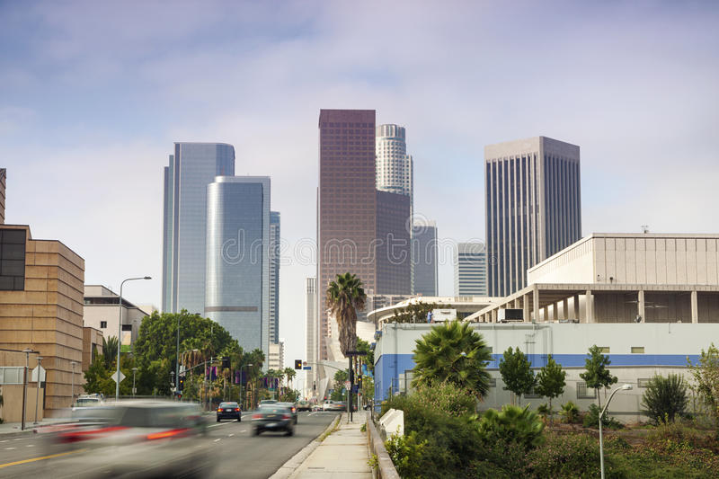 Download Financial District In Los Angeles, CA Stock Photo - Image: 28463156