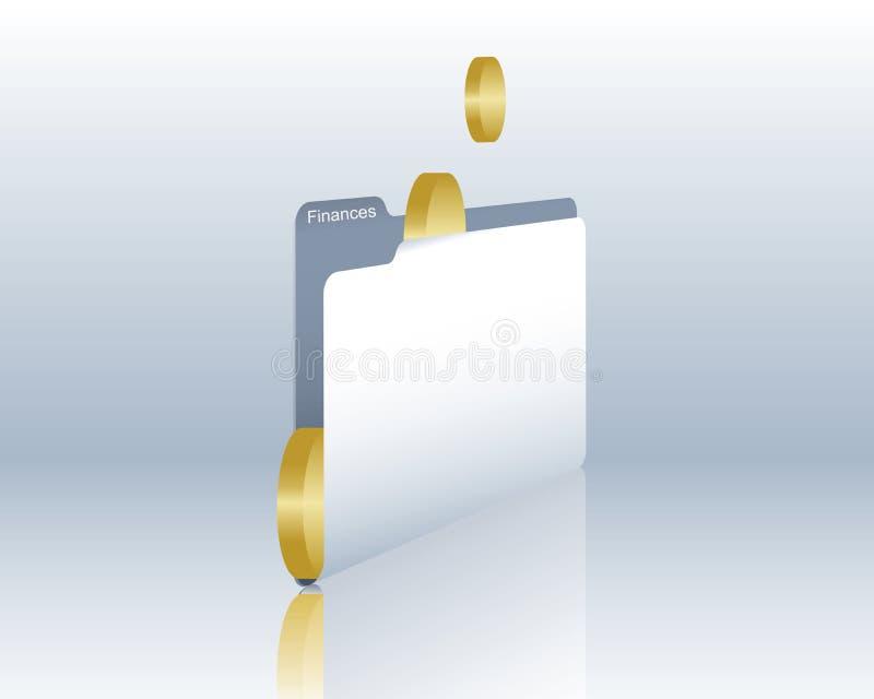Financial documents vector illustration