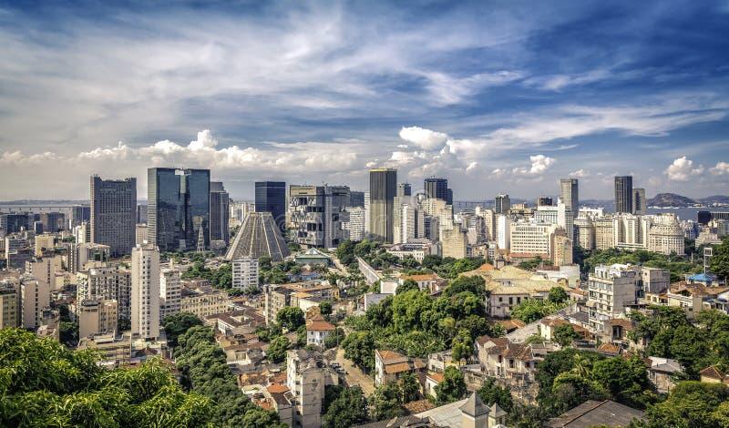 Financial Downtown of Rio de Janeiro. Brazil royalty free stock images