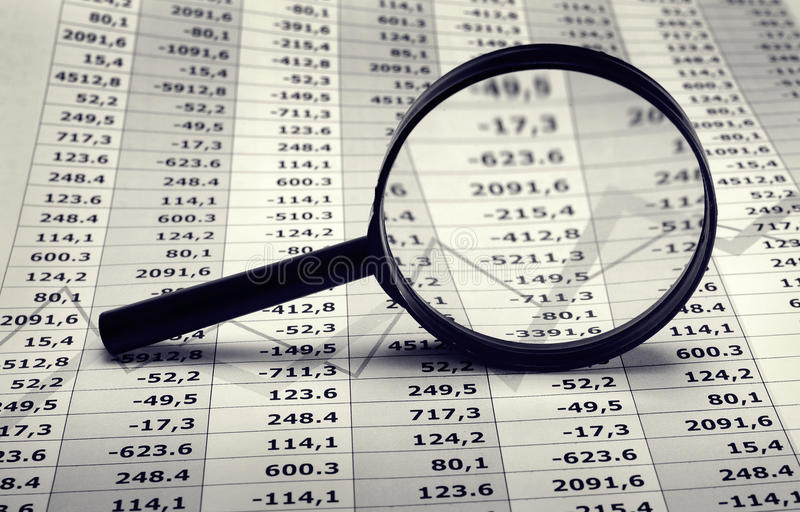 Download Financial and economy rate stock photo. Image of list - 12719534