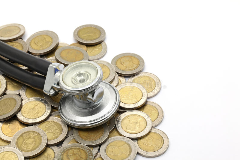 Financial examination royalty free stock photography