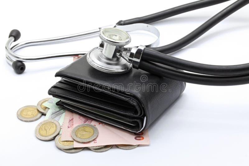 Financial examination concept stock photo