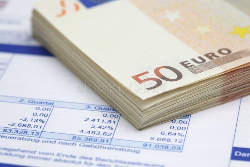 Financial Figures Stock Image