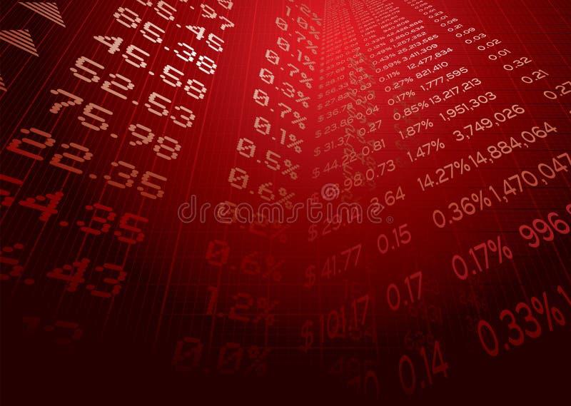 Financial forecast stock illustration