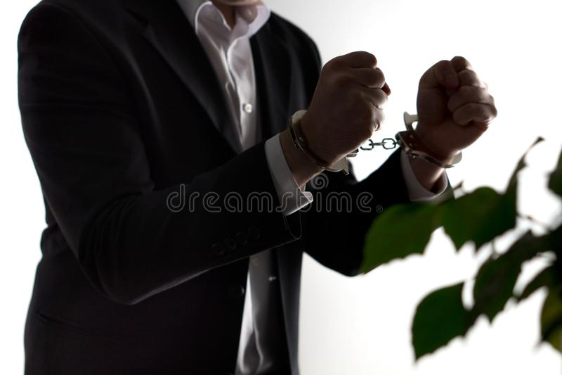 Financial fraud concept. royalty free stock photos