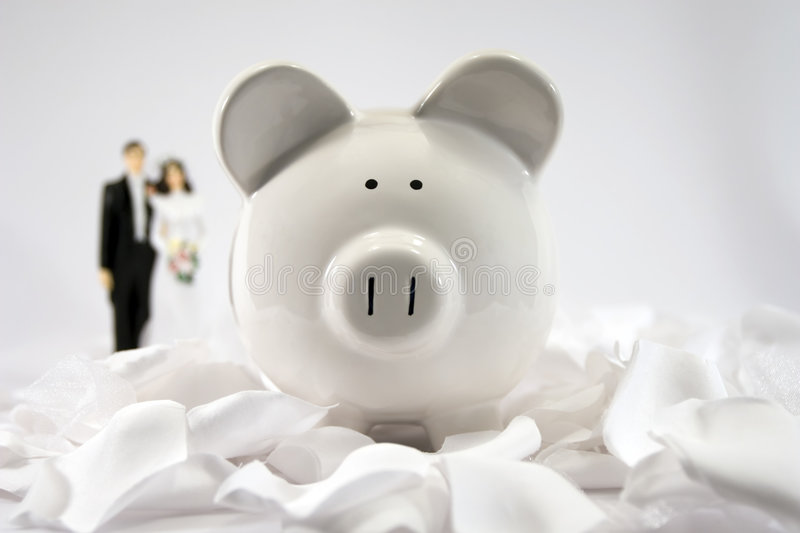 Financial Future - Marriage 02 Royalty Free Stock Images