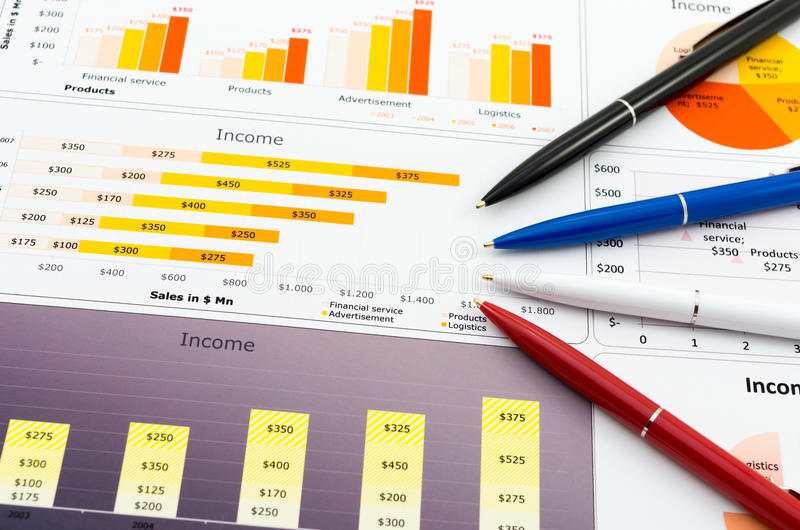 Download Financial graph stock photo. Image of planning, improvement - 36667116
