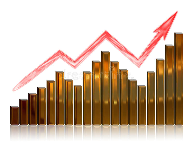 Download Financial Growth stock illustration. Image of wealth - 11700337
