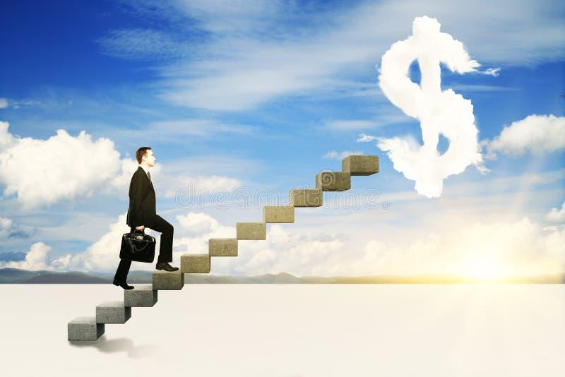 Financial growth concept stock photos