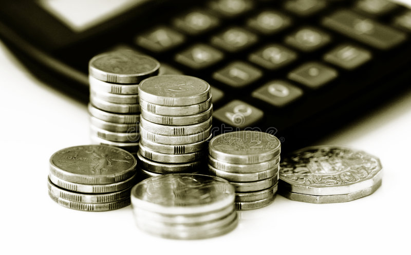 Financial growth and savings. Conceptual image representing financial growth and savings royalty free stock photos
