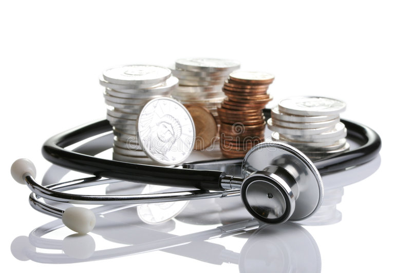 Financial health royalty free stock image