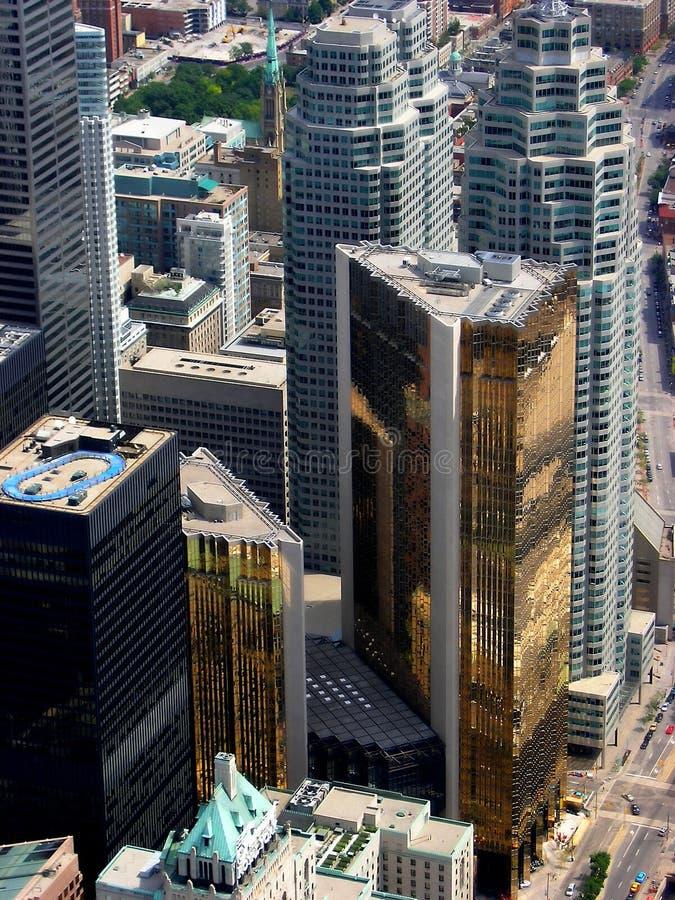 The financial heart of Toronto. stock photo