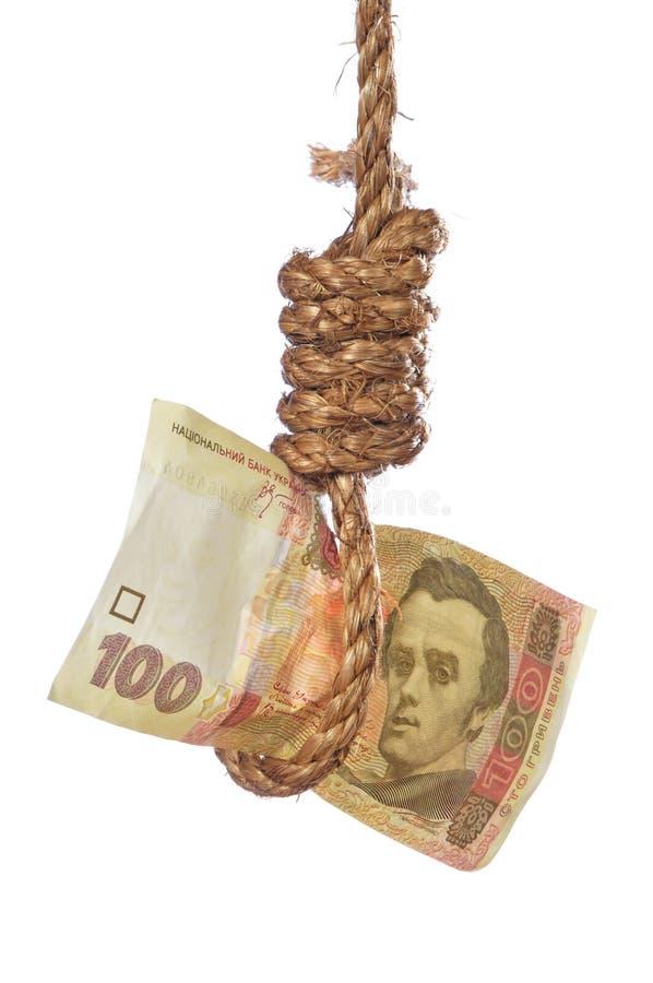 Financial hopeless of ukrainian economic stock photo