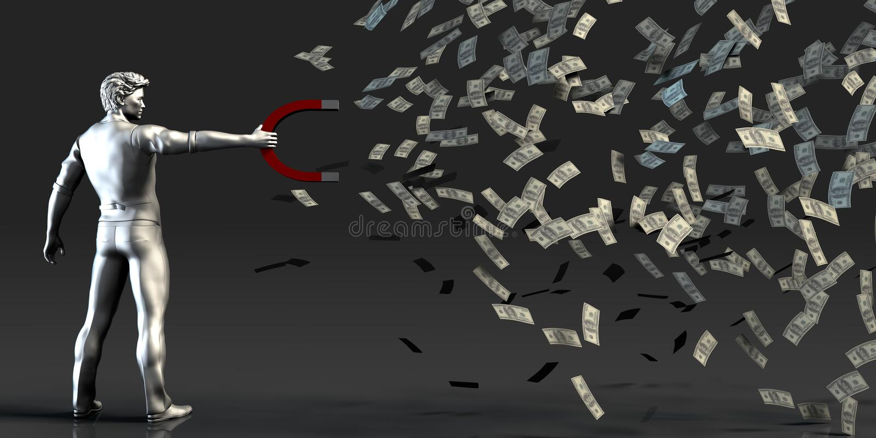 Financial Management vector illustration