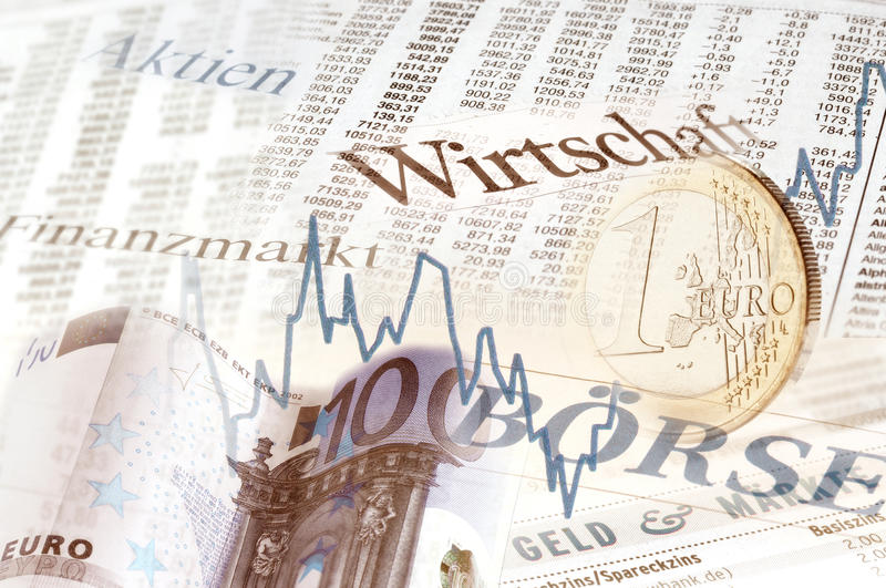 Financial market. Composing financial market and stock exchange stock photography