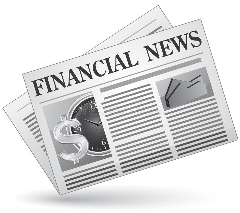 Download Financial news stock vector. Image of graph, illustration - 11732848