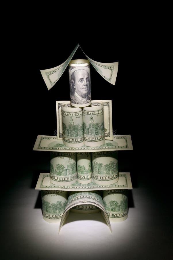 Financial palace stock photo