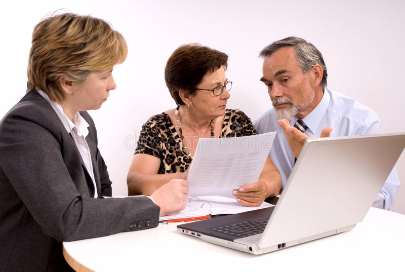Download Financial Planner Stock Image - Image: 7042691