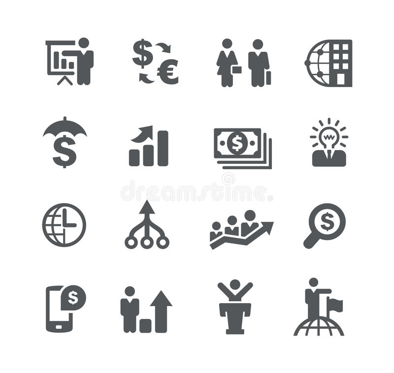 Financial Planning // Business Strategies vector illustration