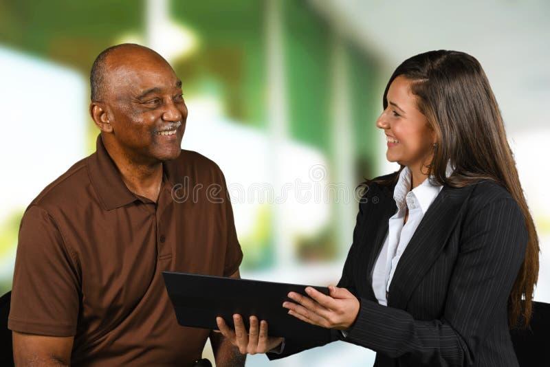 Financial Planning Retirement stock photo