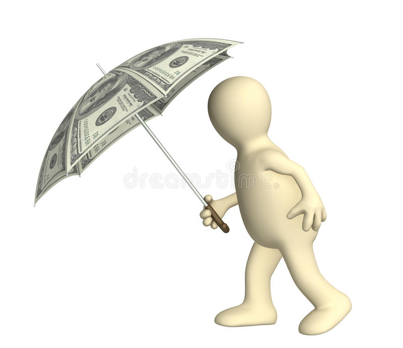 Download Financial protection stock illustration. Image of covering - 12463830