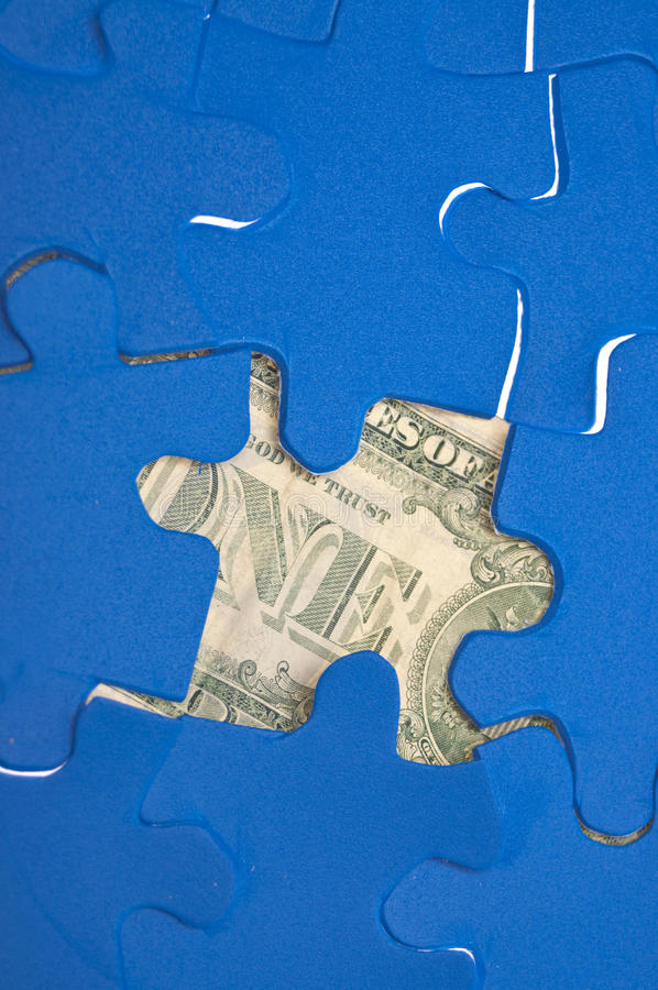 Download Financial Puzzle stock photo. Image of inventive, innovational - 15434180