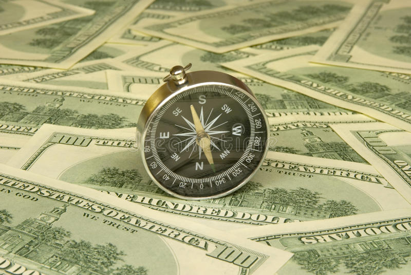 Financial reference point royalty free stock photos