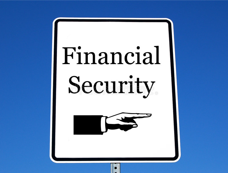 Financial securit stock photos