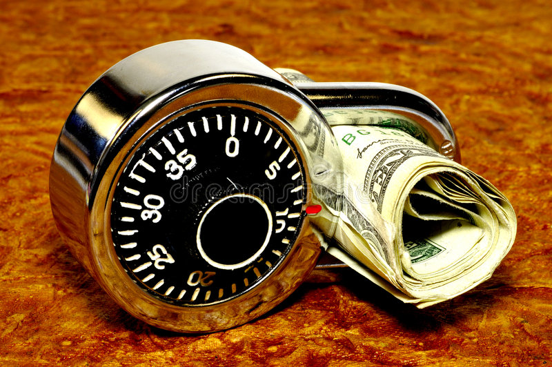 Financial Security 2 royalty free stock image