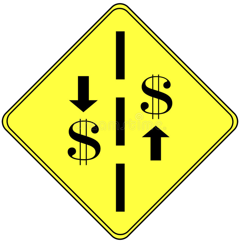 Financial sign
