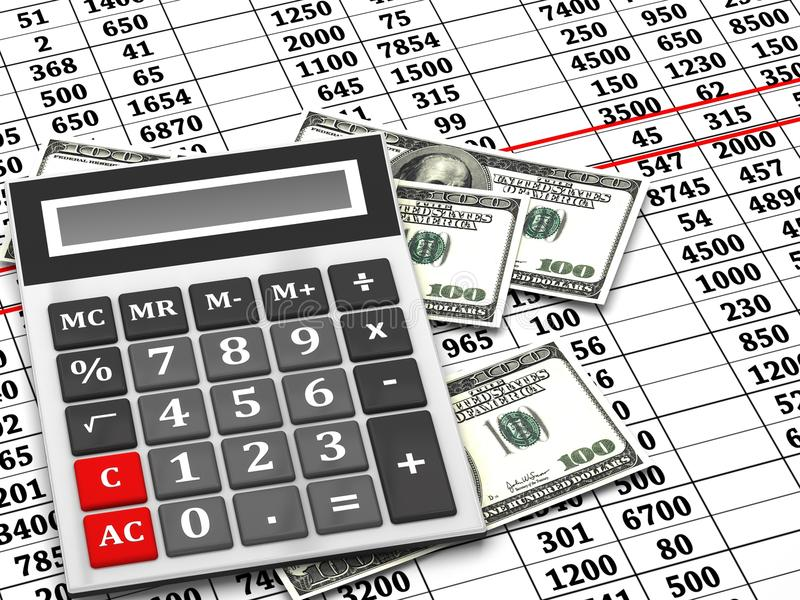 Download Financial statement stock illustration. Image of data - 29518213