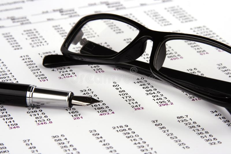 Download Financial Statement stock photo. Image of correlate, solve - 8112260