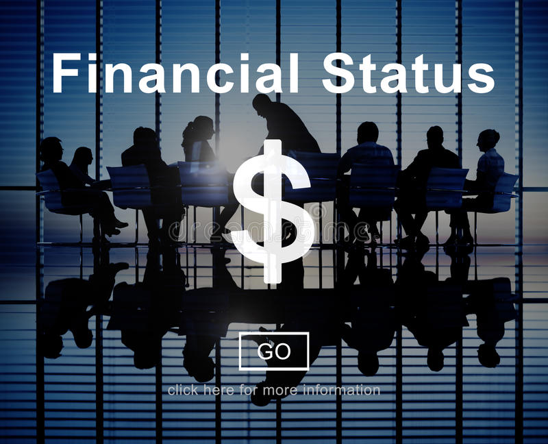 Financial Status Budget Credit Debt Planning Concept royalty free stock image