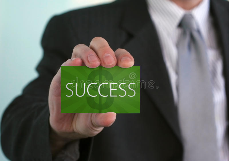 Financial Success stock photography