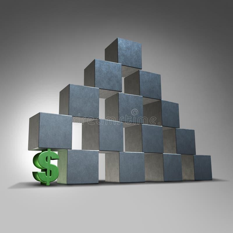 Financial Support stock illustration