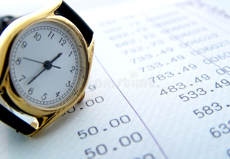 Download Financial times stock image. Image of hand, strap, background - 65803