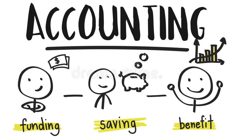Financial Transaction Planning Accounting Income Investment Conce vector illustration