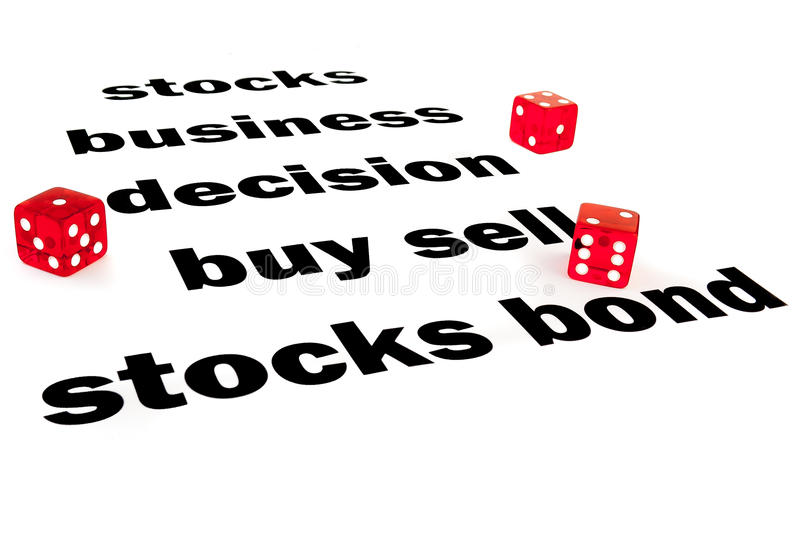 Download Financial words with dice stock photo. Image of graph - 21748538