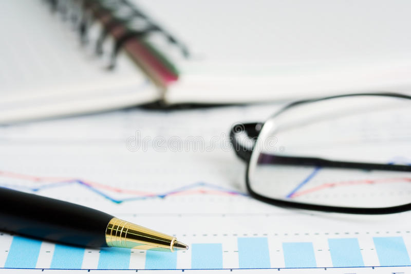 Download Financial Works. Stock Photo - Image: 13152230