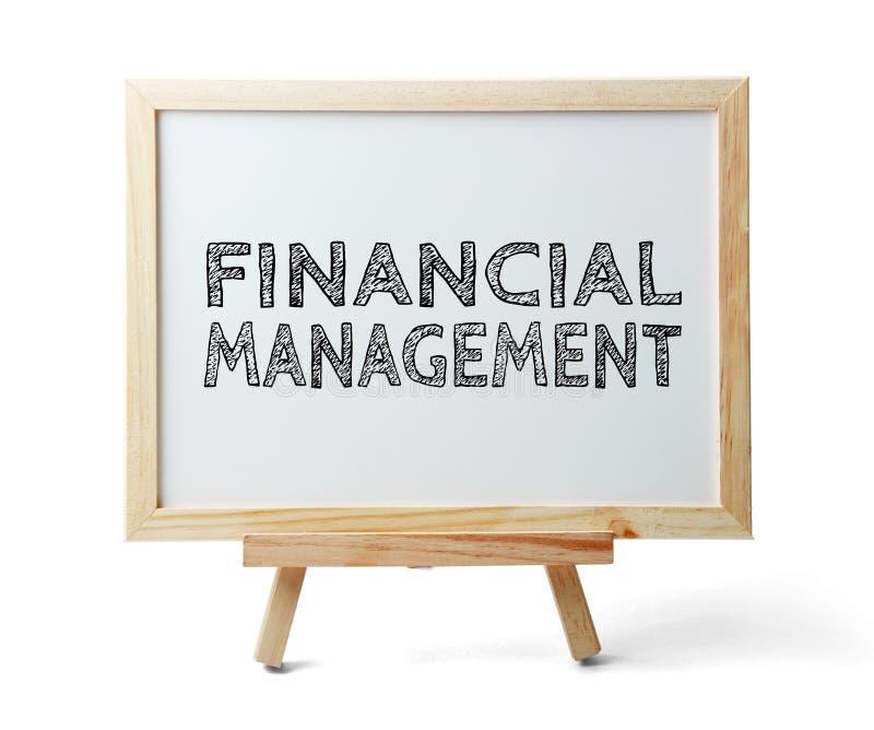 Financieel Beheer stock foto