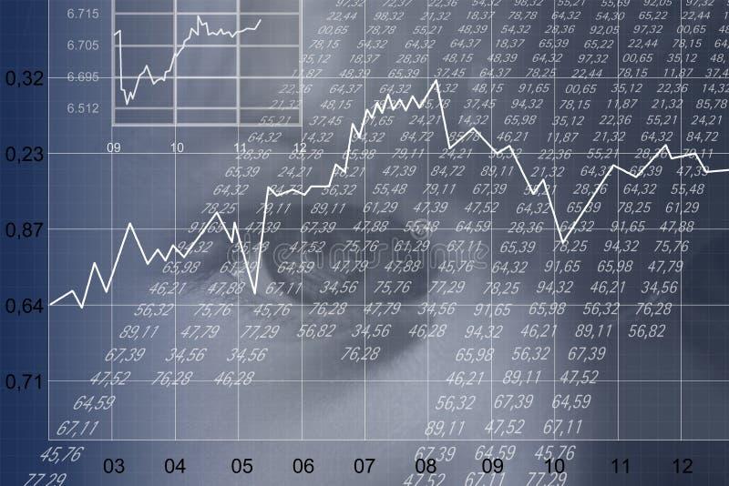 Financieel blad vector illustratie