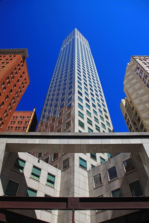 Financieel District van San Francisco royalty-vrije stock afbeeldingen
