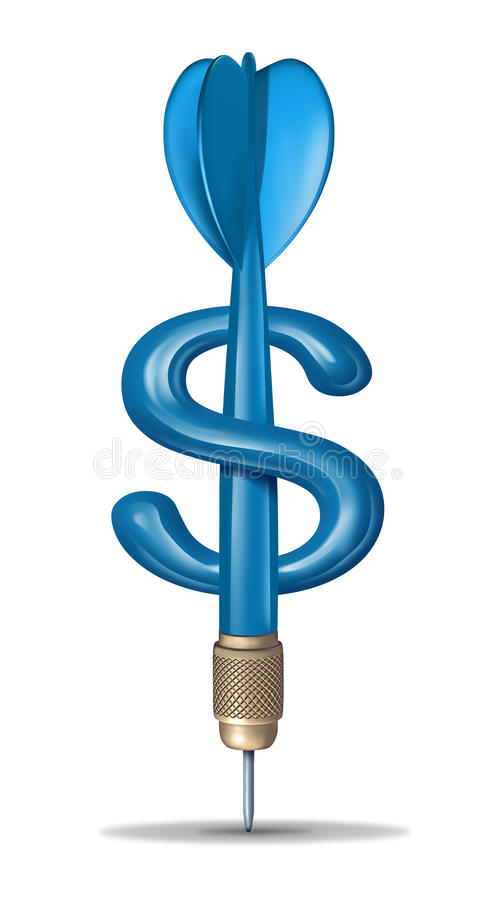 Financieel Doel stock illustratie