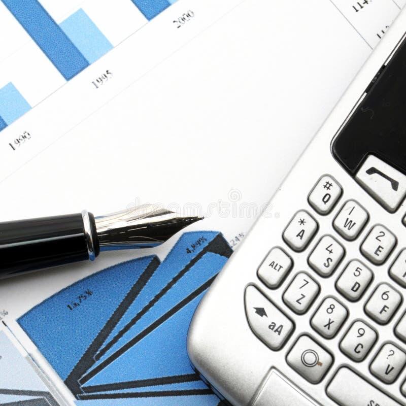 Financieel effectenbeurssucces stock afbeelding