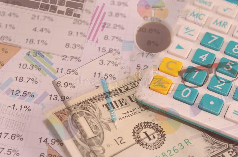 Financieel en Geld royalty-vrije stock afbeeldingen