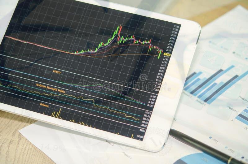 Financieel en Geld royalty-vrije stock fotografie
