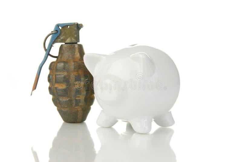 Financieel Risico stock fotografie