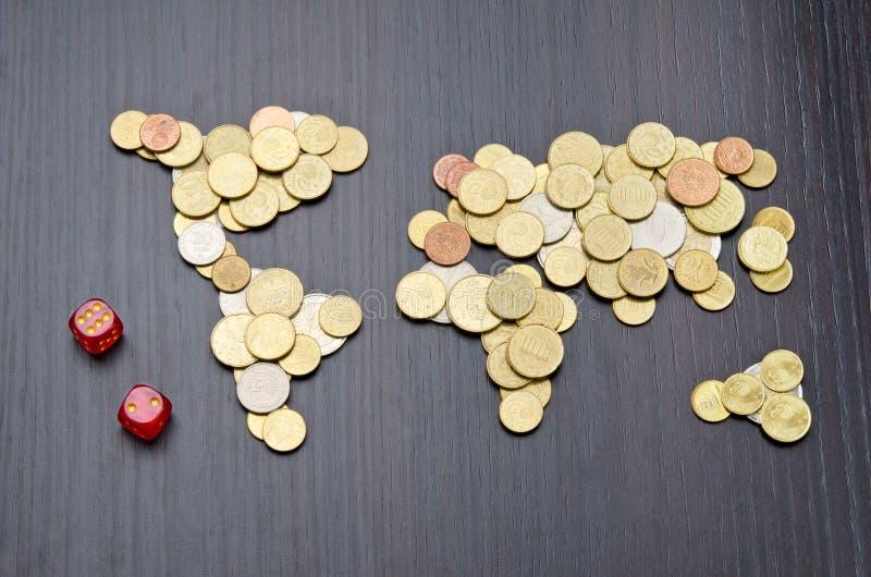 Financieel risico royalty-vrije stock foto