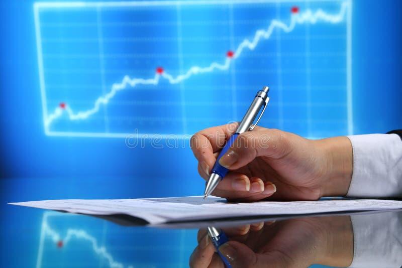 Financieel seminarie royalty-vrije stock afbeeldingen
